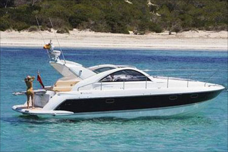 REDUCED!!! 2011 Sporty Fairline Targa 38 w D6 engines for Sale!