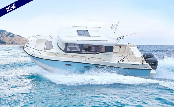 NEW! Quicksilver Captur 905 Pilothouse