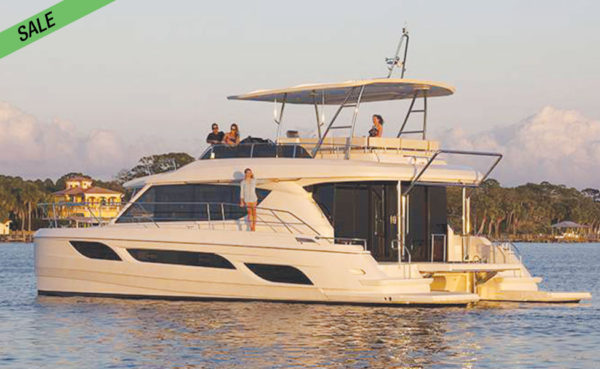 SO CHEAP! 50ft Immaculate Power Catamaran!