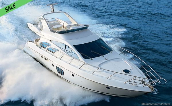 Stately looking Azimut 55 Evolution! Pristinely maintained! SALE!
