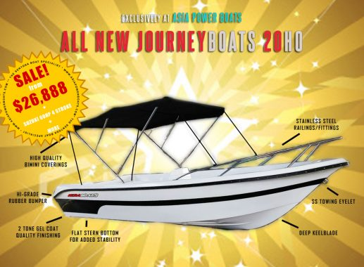NEW! Journey 20H0 with 4 Stroke Engine + more!