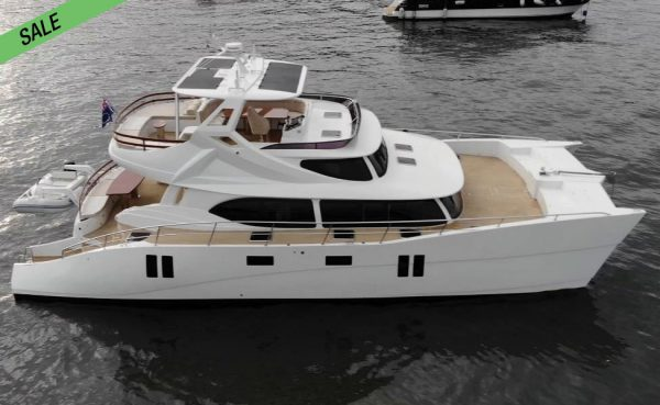ALMOST NEW! Granocean 55 Powercat w IPS!
