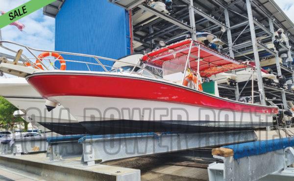Good 26ft CC Fishing boat w Suzuki 140HP!