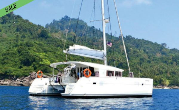 Lagoon 400 sail/power catamaran for SALE!