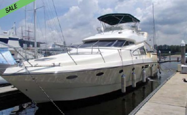 Stately 55ft Lotus Flybridge