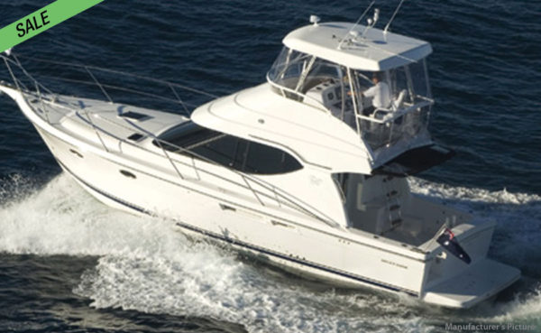 LOWEST! 41ft Mustang M37 Sports Flybridge!