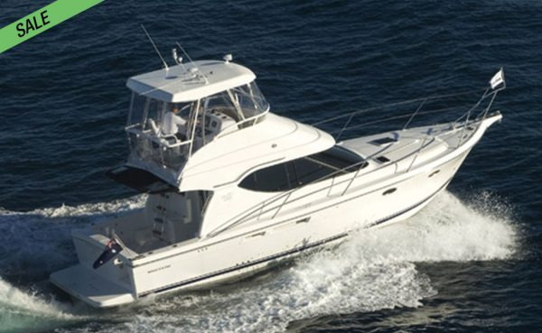 LOWEST! 40ft Mustang M37 Sports Flybridge!