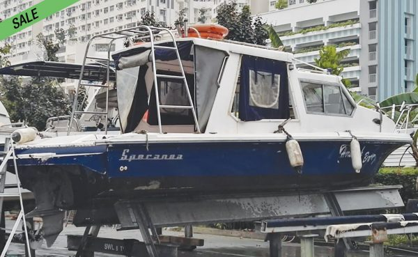 CHEAP! DIESEL! Self-bailing Fishing cruiser!