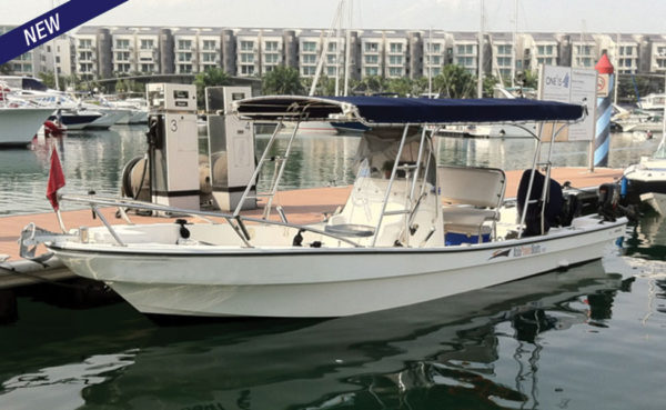 New good size well-built fishing boat!